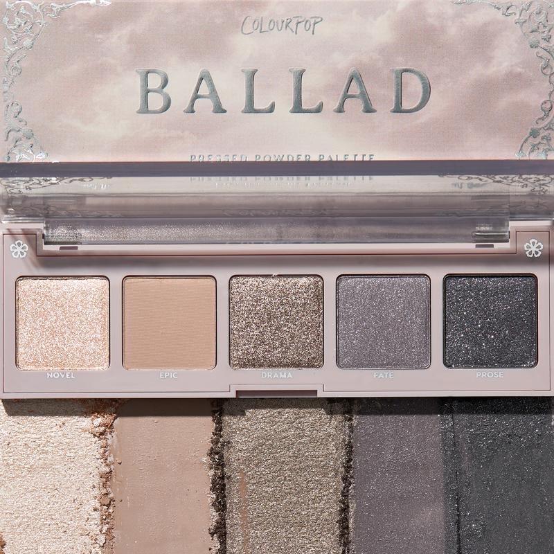 ColourPop Ballad palette
