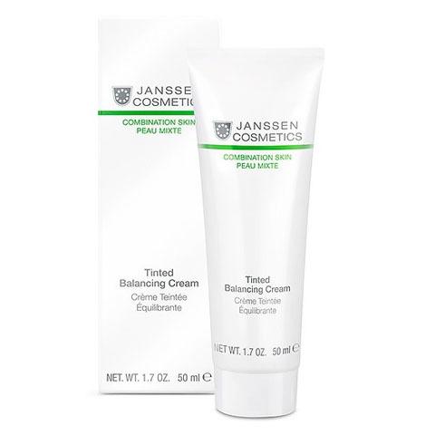 Janssen Combination Skin: Балансирующий крем для лица с тонирующим эффектом (Tinted Balancing Cream)