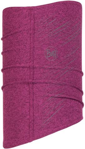 Теплая светоотражающая бандана-труба Buff Neckwarmer Tech Fleece R-Pink фото 1