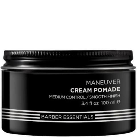 Redken Brews: Помада-крем для мужских волос (Maneuver Cream Pomade), 100мл