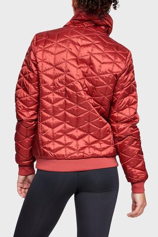 Женская красная куртка CG Reactor Performance Jacket Under Armour