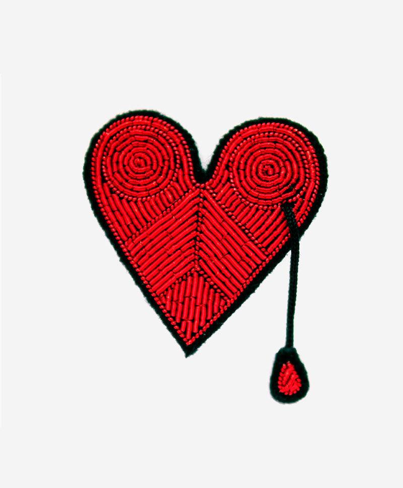 брошь-красное-сердце