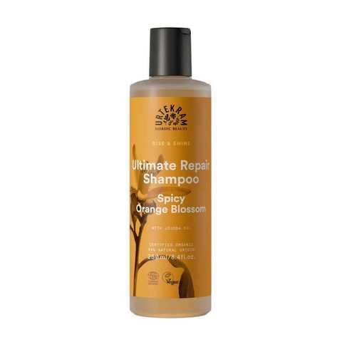 Urtekram Шампунь для максимального восстановления волос «Пряный цветок апельсина», 250 мл