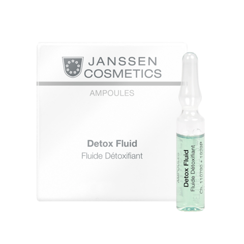JANSSEN COSMETICS Детокс-сыворотка в ампулах | Detox Fluid 7х2 ml