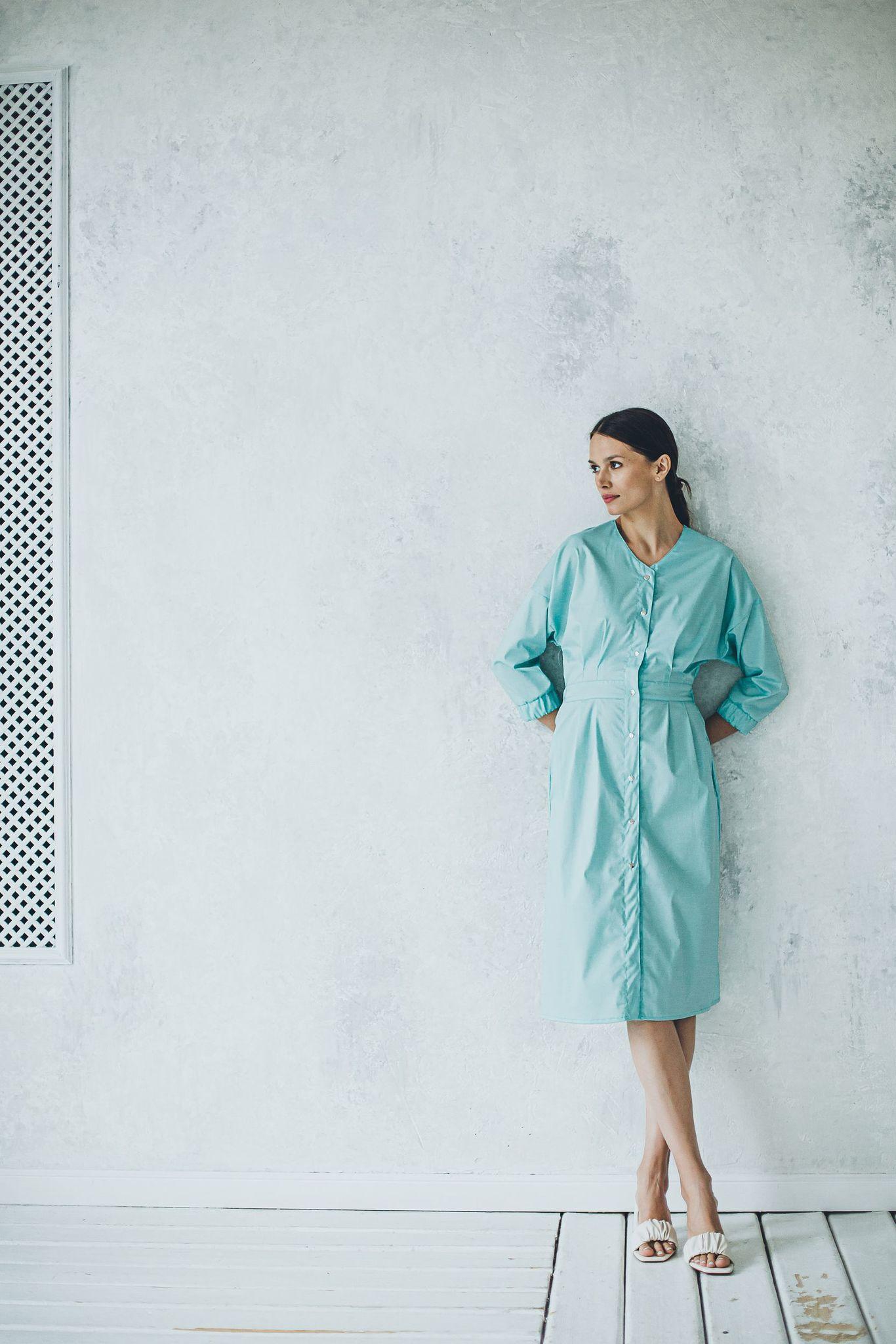 Халат женский медицинский М 186