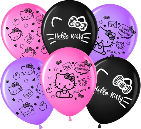 Воздушные шары Хелло Китти