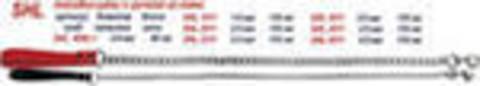 SHL 4011 Ч2-315 ТРИОЛ Цепь-поводок кожан.ручка 4*110  *12*60