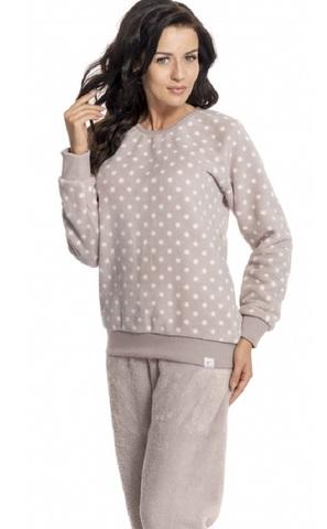 Пижама женская пушистая
