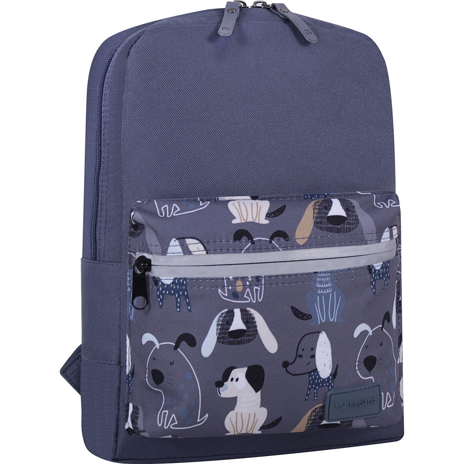 Детские рюкзаки Рюкзак Bagland Молодежный mini 8 л. серый 771 (0050866) IMG_6764_суб771_-1600.jpg