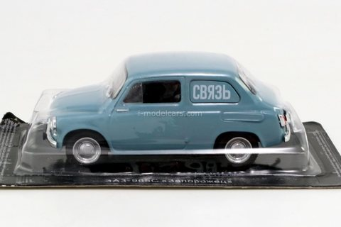 ZAZ-965S Zaporozhets Communication 1960 1:43 DeAgostini Auto Legends USSR #272