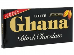Шоколад ГАНА черный, Lotte, 50 гр.