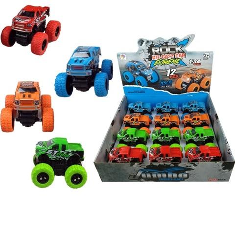Набор машинок (в ассортименте) monster truck № 1, 1кор*12бл*12шт