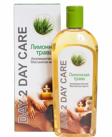 Массажное масло Лимонная трава аюрведическое, 200 мл D2D