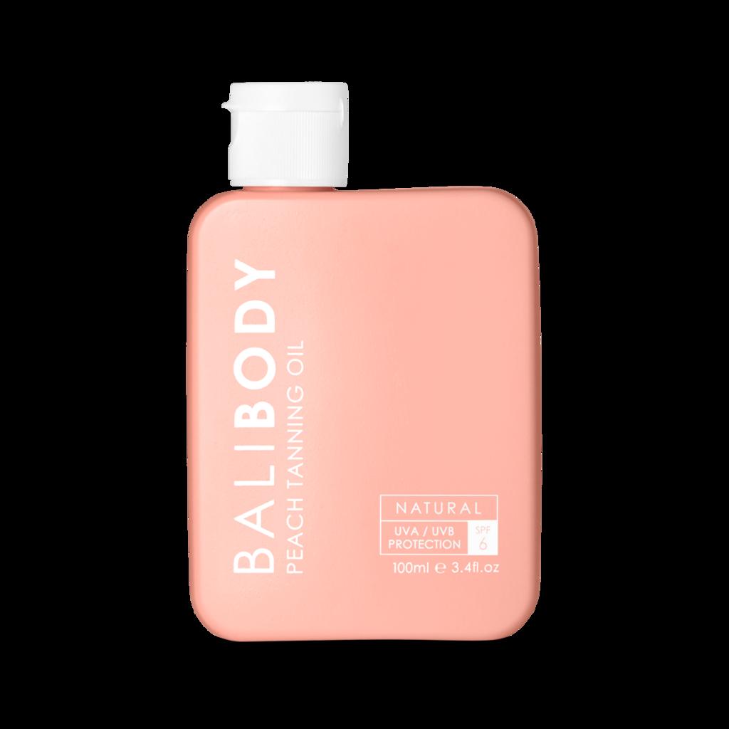 Bali Body Peach Tanning Oil SPF6