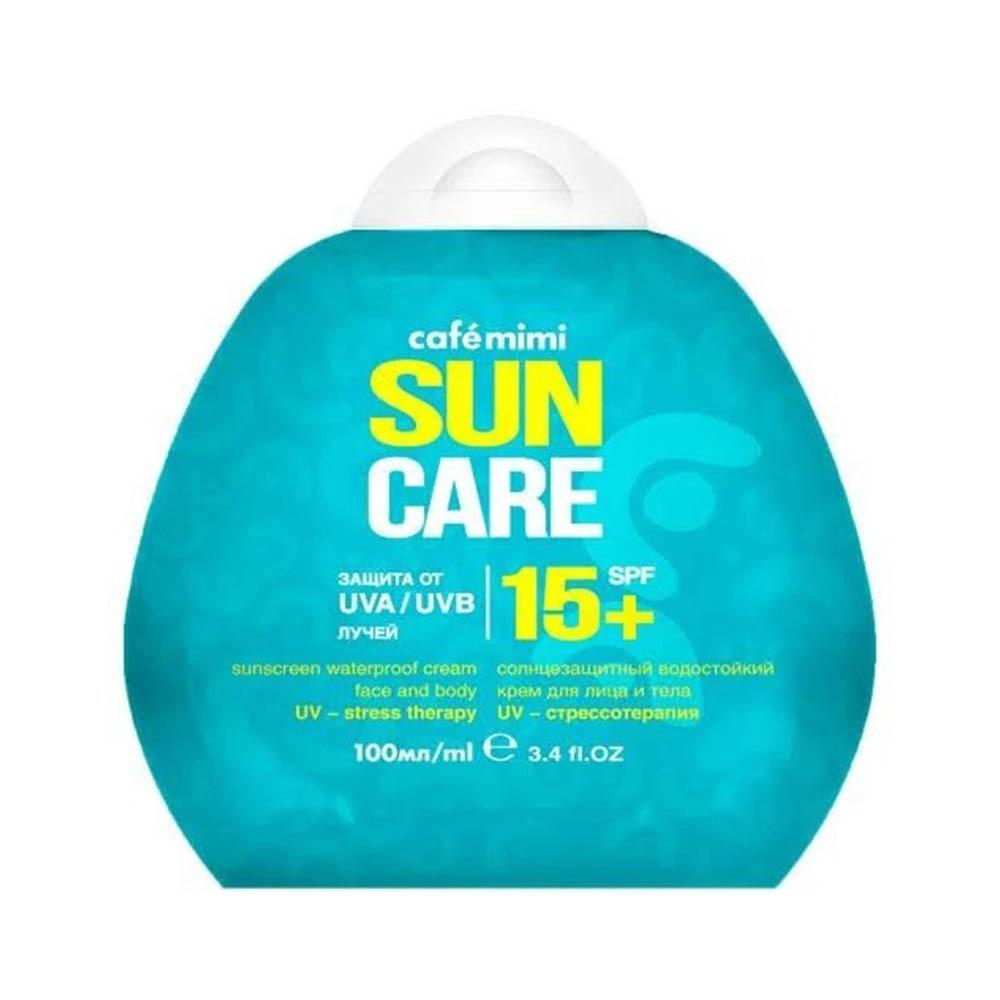 Крем солнцезащитный водостойкий для лица и тела SPF15