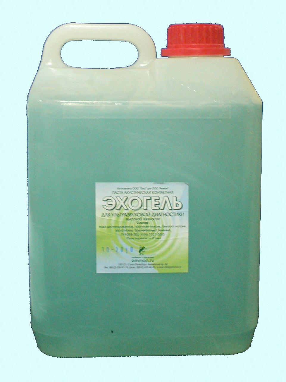 Эхогель, гель УЗИ высокой вязкости, 5 кг