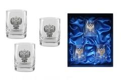 Подарочный набор стаканов для виски «Российский стандарт», фото 1