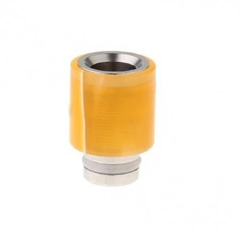 Drip-Tip Acrylic wrapped SS Hybrid жёлтый