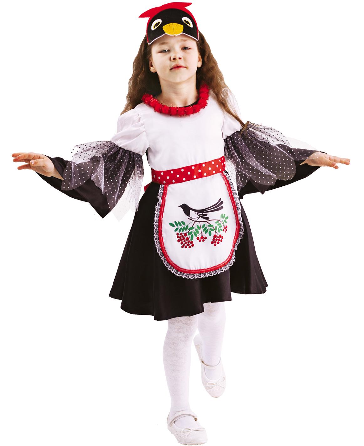 Карнавальный костюм детский Сорока Глаша