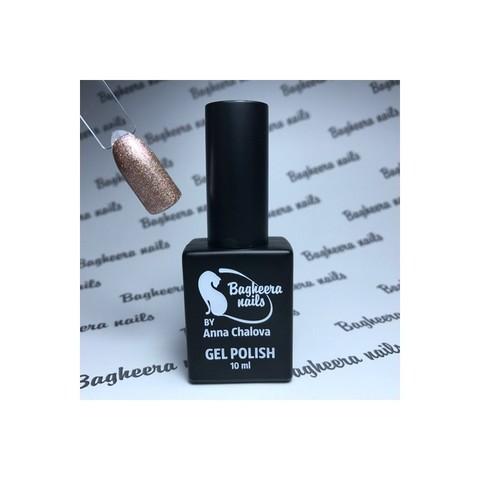 Bagheera Nails BN-107 гель-лак с блёстками 10 мл