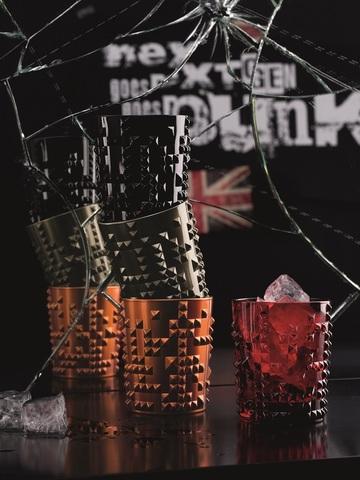Бокал Whisky Jet-Black 348 мл артикул 100055. Серия Punk