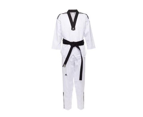 Добок для тхэквондо Adi-Club 3 белый с черным воротником