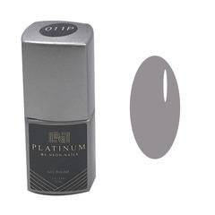Серый гель-лак Platinum фото
