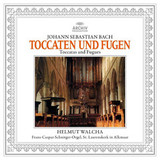 Helmut Walcha / Johann Sebastian Bach: Toccatas And Fugues (LP)