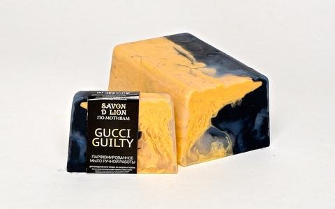Мыло ручной работы по мотивам Gucci guilty 100 гр ТМ SAVON D LION