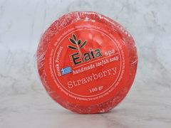 Мыло с люфой Клубника Elaia Spa 100 гр