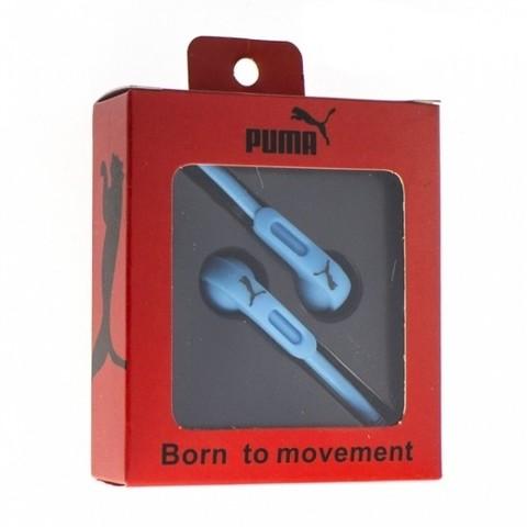 Наушники вакуумные Puma born to movement blue (клас А)
