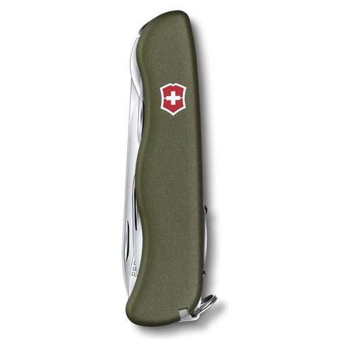 Нож перочинный Victorinox Picknicker (0.8353.4R) 111мм 11функций зеленый