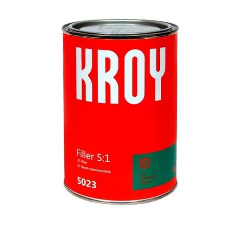 5023 KROY Filler 5:1 2К Грунт-наполн. белый 0.75 L + отверд. H512 0.15L