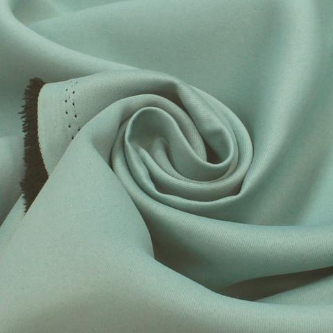 Портьерная ткань блэкаут ментол. Арт. Т-711-17
