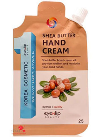 Eyenlip Крем для рук с маслом ши Shea Butter Hand Cream, 25 гр