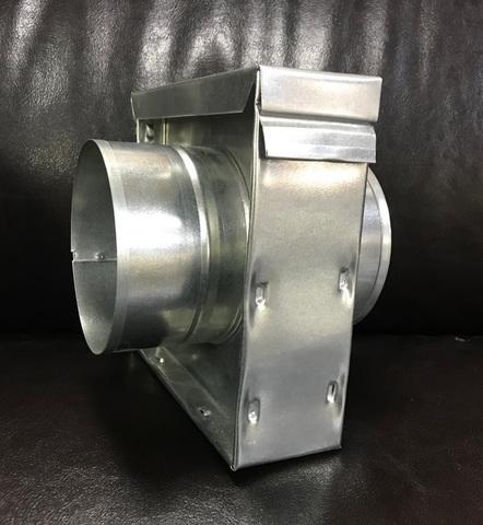 КУФ 100 - Кассетный угольный фильтр d 100мм