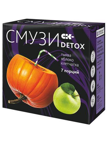 Смузи CK-DETOX тыква, яблоко, 12г*7пак. (Сибирская клетчатка)
