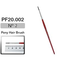 BRUSH,PONY HAIR,No.2