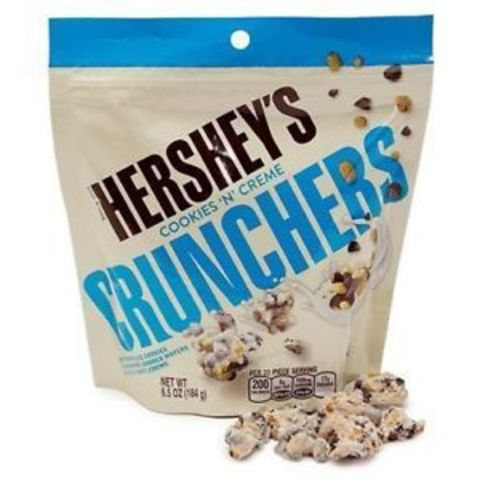 Hershey's Cookies and Creme Crunchers 172 гр