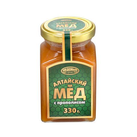Алтайский мёд с прополисом, 320 г