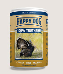 Консервы для собак Happy Dog 100% Индейка