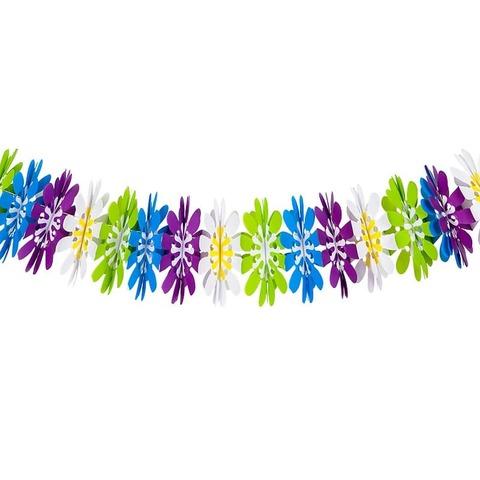 Гирлянда Цветы, Разноцветная, 300 см