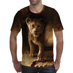 Футболка 3D принт, Король Лев (3Д The Lion King) 02