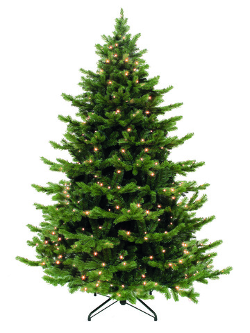 Triumph tree ель Шервуд Премиум зеленая (лампы) 1,55 м