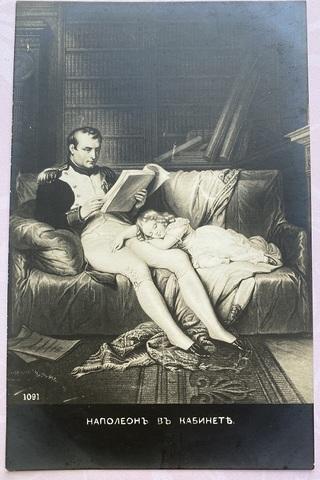 Наполеон в кабинете