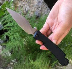 Нож складной Daggerr Pelican Black SW, черный, новый