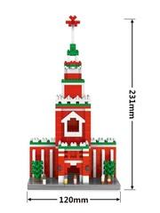 Конструктор Wisehawk & LNO Кремль 856 детали NO. 2462 Kremlin Gift Series