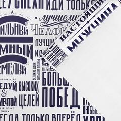 Бумага упаковочная глянцевая «Больших побед», 60 × 90 см, 5 листов.