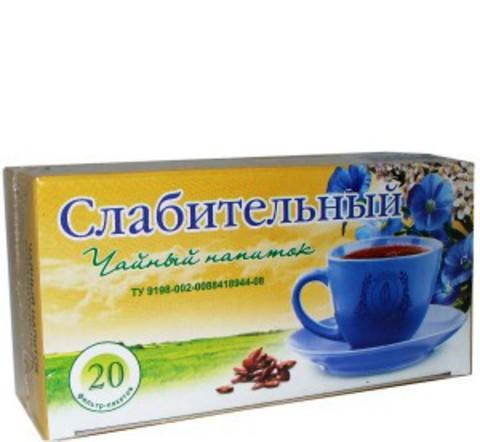 Чайный напиток «СЛАБИТЕЛЬНЫЙ» ,ф/п, 20шт, кор. (ИП Гордеев М.В.)