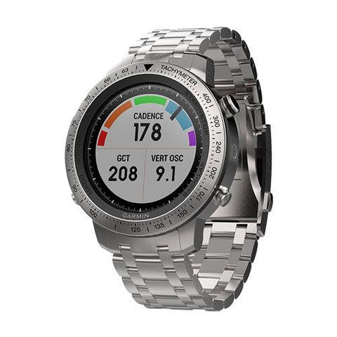 Беговые часы Garmin Fenix Chronos с металлическим браслетом